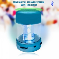 Mini Digital Speaker System With LED Light - A66