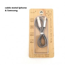 Cable Metal For Samsung & Iphone
