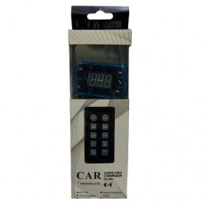 CAR FM WIRELESS - With Remote