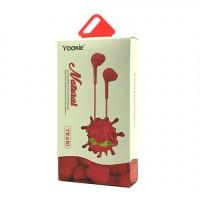 EarPhone YOOKIE YK610 - NATURAL